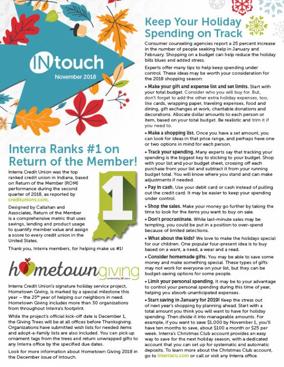 Interra Newsletter November 2018 1